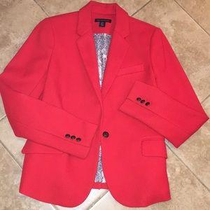 British Khaki Red Blazer